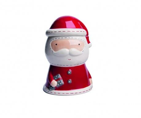 Dóza s vekom Cute Santa