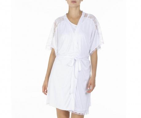 Дамски домашен халат Alberta White