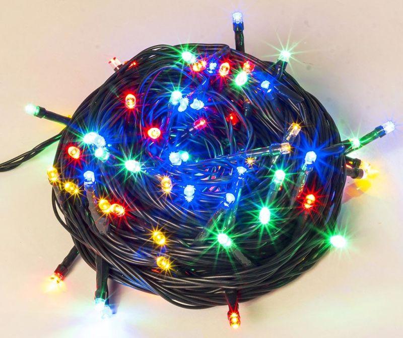 Světelná girlanda Glimmer Multicolor 600 cm
