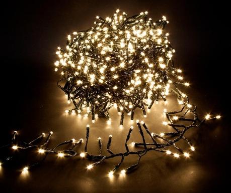 Светеща гирлянда Firework Warm White 1120 см