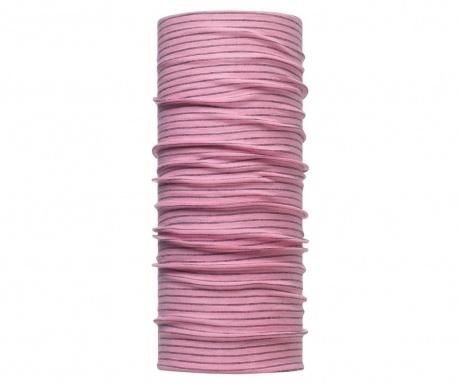Kruhová šála unisex Buff Beebe Pink 24.5x53 cm