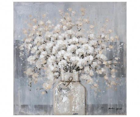 Slika Flowerpot 80x80 cm