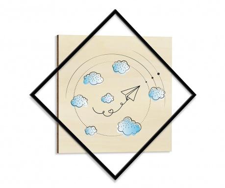 Obraz Childhood 64x64 cm