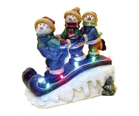 Φωτεινό διακοσμητικό Snowmen With Sled