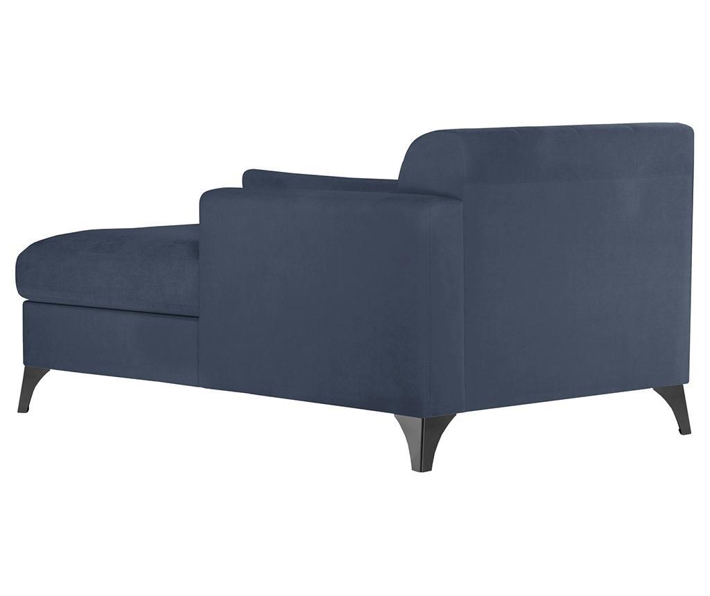 Lehátko do obýváku pravostranné Vanity Blue