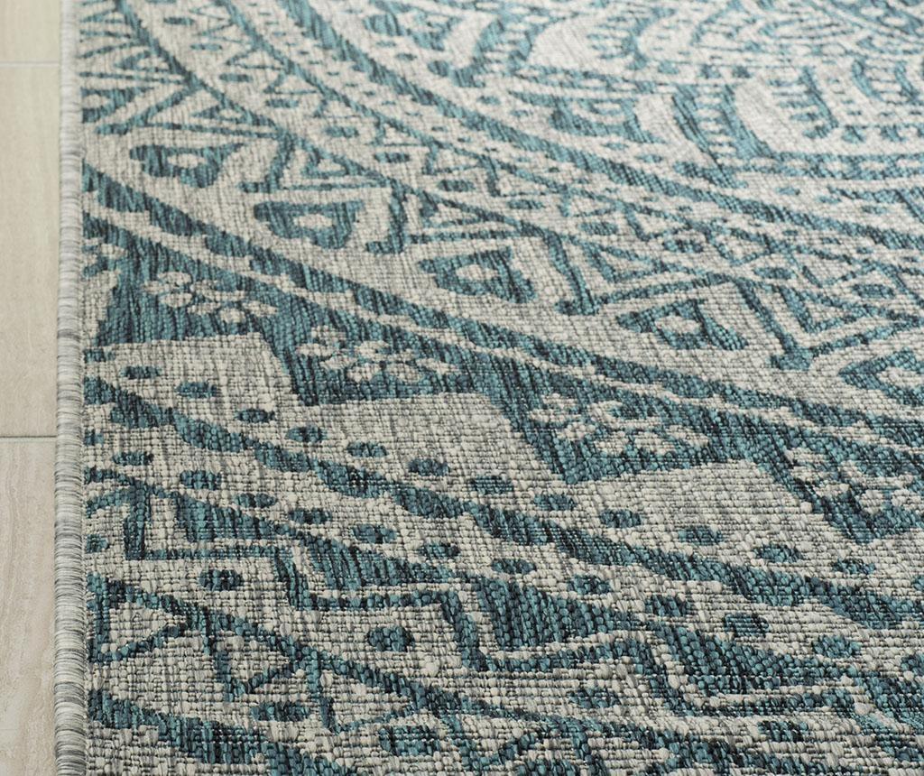 Kalena Grey Teal Szőnyeg 160x230 cm