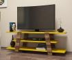 Flower Walnut Yellow TV Komód