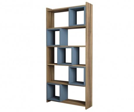 Knjižni regal Box  Walnut Chalcedony