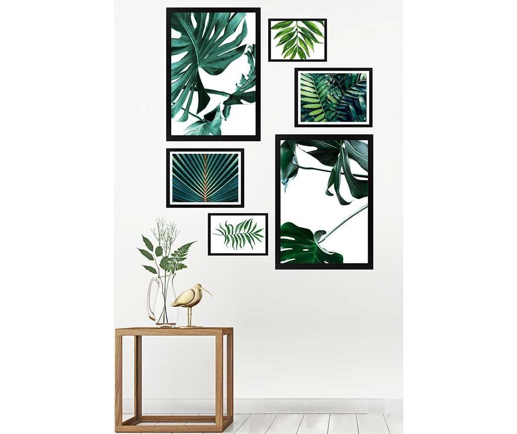 Set 6 slika Natural Green