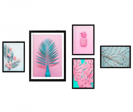 Set 5 slik Tropical Pink