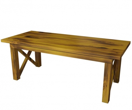 Konferenční stolek Ricco Yellow