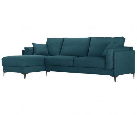 Rohová pohovka levostranná Desire Turquoise