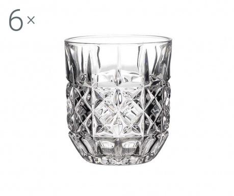Сервиз 6 чаши за уиски Bilrin 280 мл