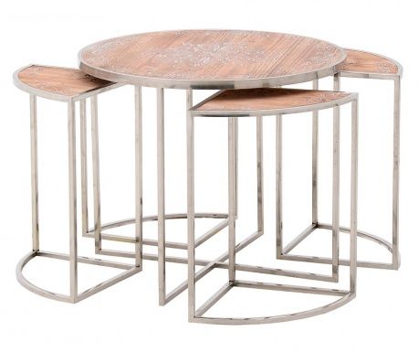 Catalania 5 db Asztalka