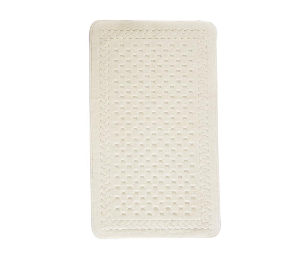 Lace Cream Fürdőszobai szőnyeg 70x120 cm
