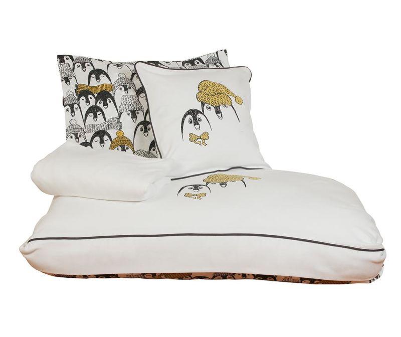 Posteljina za krevetić Satin Supreme Pingu White