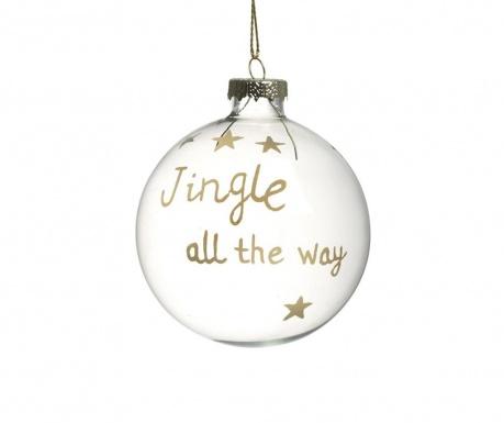 Glob decorativ Jingle All The Way