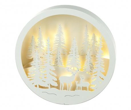 Svetelná dekorácia Snowy Forest Scene