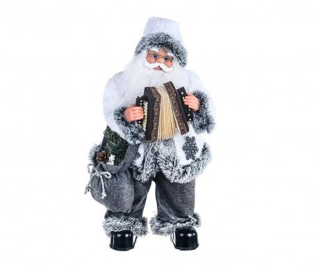 Decoratiune muzicala Old Santa with Accordion