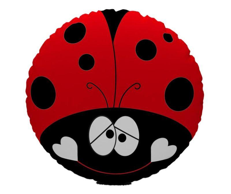 Perna decorativa Ladybug Red 30 cm