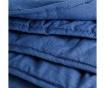 Prešito posteljno pregrinjalo Despina Blue 127x152 cm