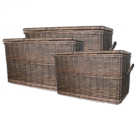 Set 3 košare za pohranu Bratford