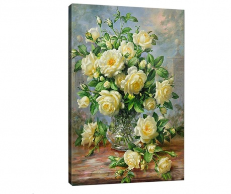 Tablou 3D Wonderful Flowers 50x70 cm