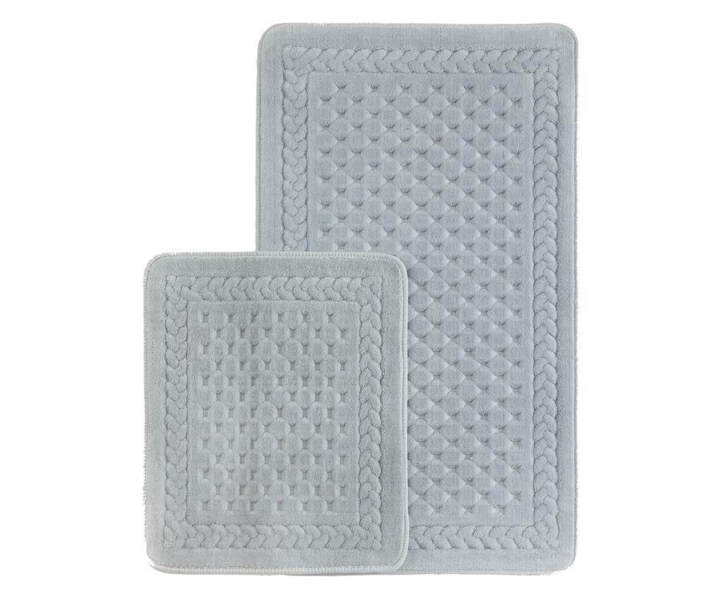 Lace Grey 2 db Fürdőszobai szőnyeg