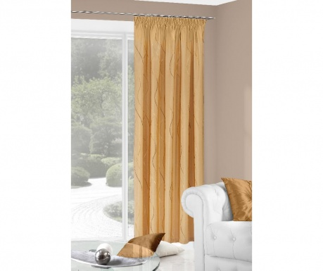Draperie Mona Orange 140x280 cm