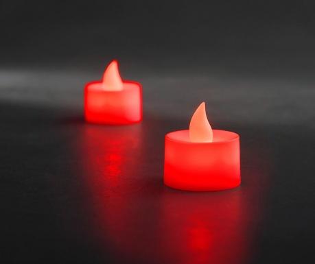 Set 2 lumanari cu LED Legeril Red