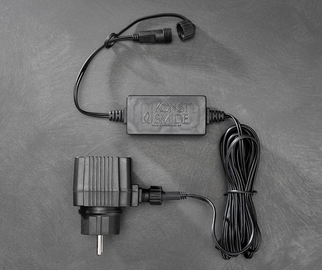 Cablu de alimentare ghirlanda luminoasa pentru exterior 500 cm