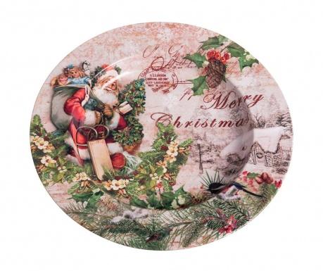 Plitki tanjur Santa Claus