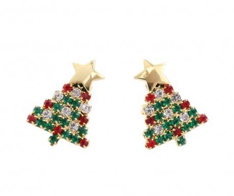 Náušnice Crystal Christmas
