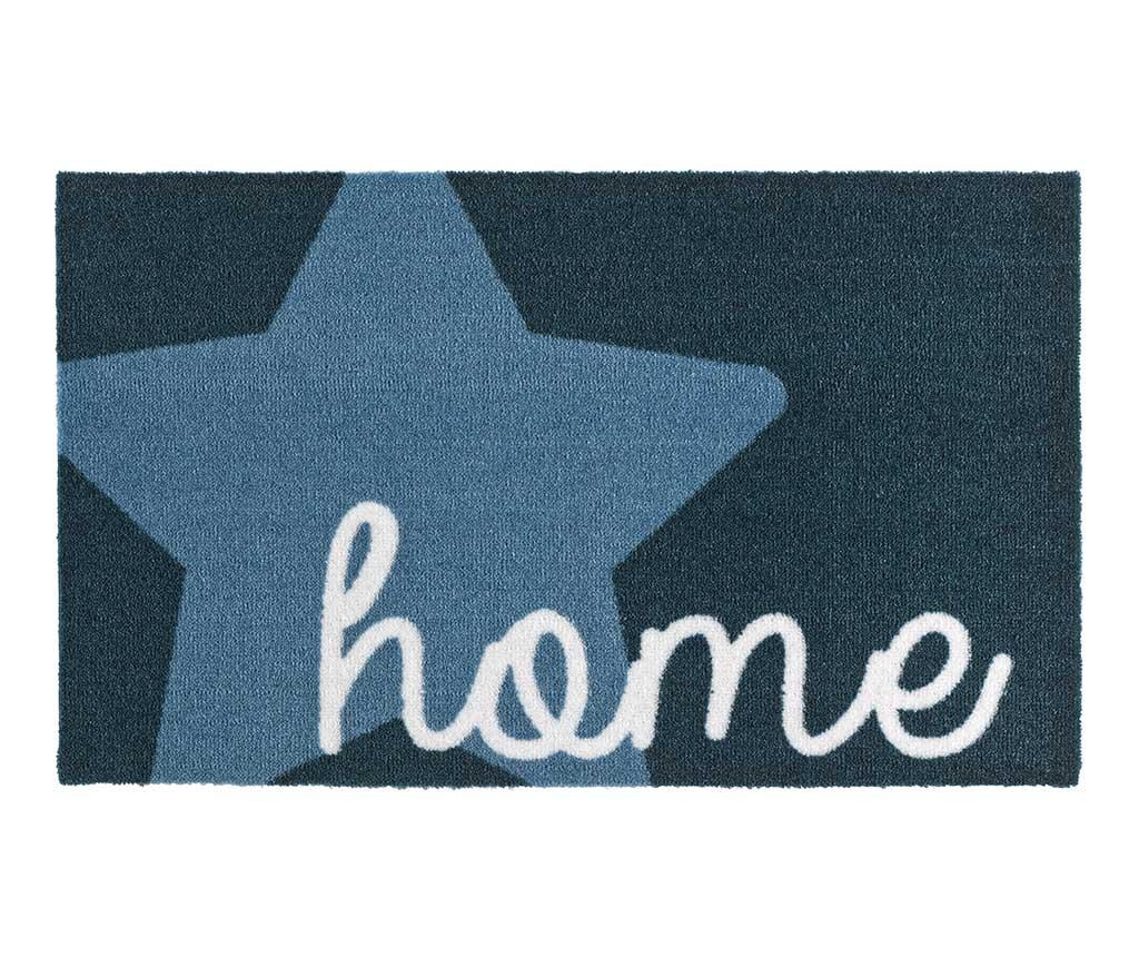 Входна изтривалка Star Home Blue 50x70 см