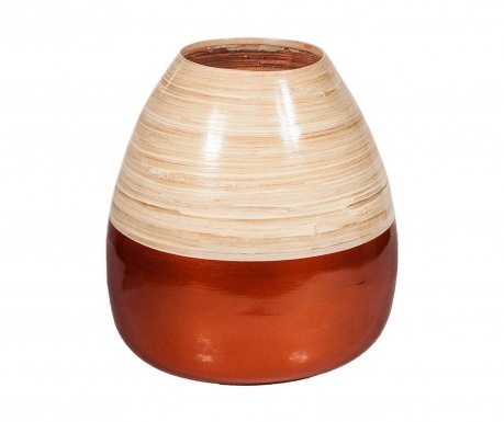 Wazon Bamboo Copper Round
