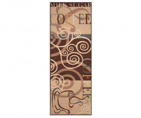Preproga Coffee Ornament 67x180 cm