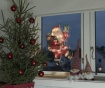 Svetlobna dekoracija Santa Claus Bye