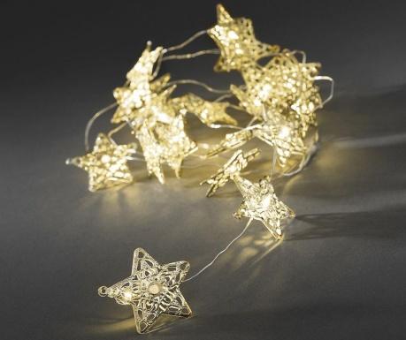 Светеща гирлянда Stars Golden 190 см