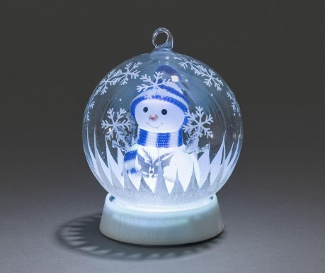 Светеща декорация Snowman Inside