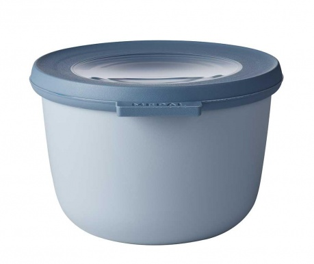 Κουτί αποθήκευσης με καπάκι Circula Nordic Blue 500 ml