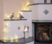 Ghirlanda luminoasa White Snow Flake 198 cm