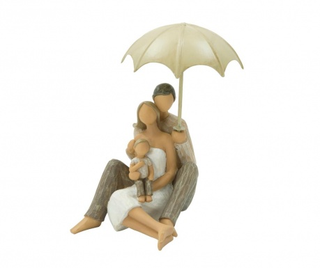 Dekorácia Family with Umbrella