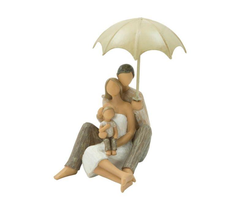 Ukras Family with Umbrella