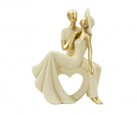 Dekorácia Couple Charm Heart