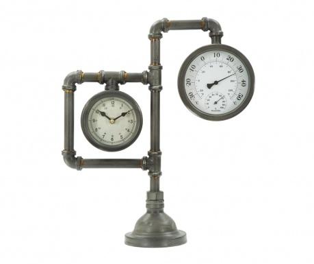 Stolové hodiny Industrial Double