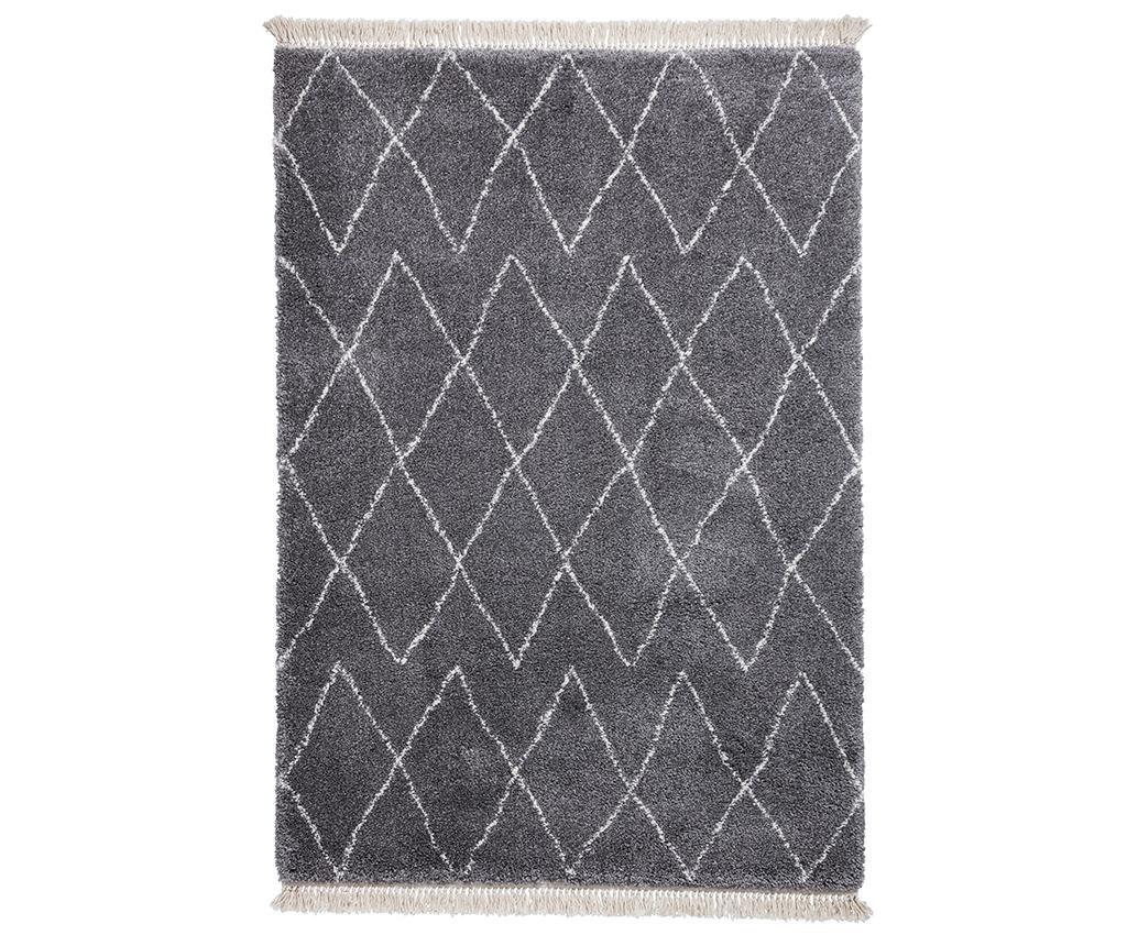 Covor tip pres Boho Lia Grey 120x170 cm