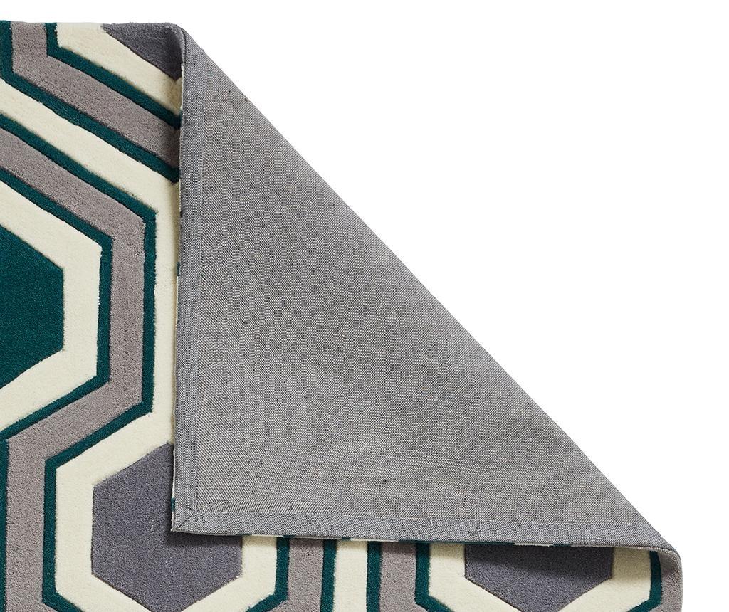 Covor Hong Kong Lina Grey and Green 150x230 cm