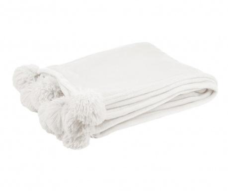 Cierra White Pléd 130x170 cm