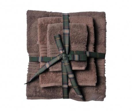Комплект 3 кърпи за баня Downtown Dune