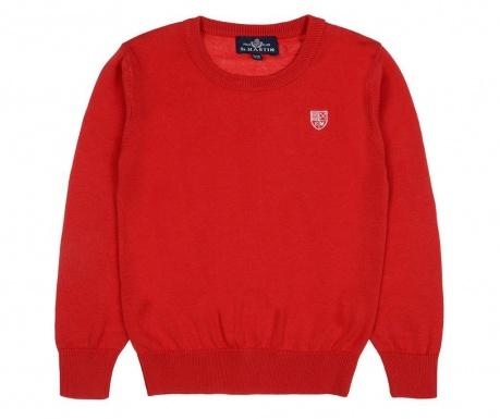 Otroški pulover Arrie Red 7-8 let
